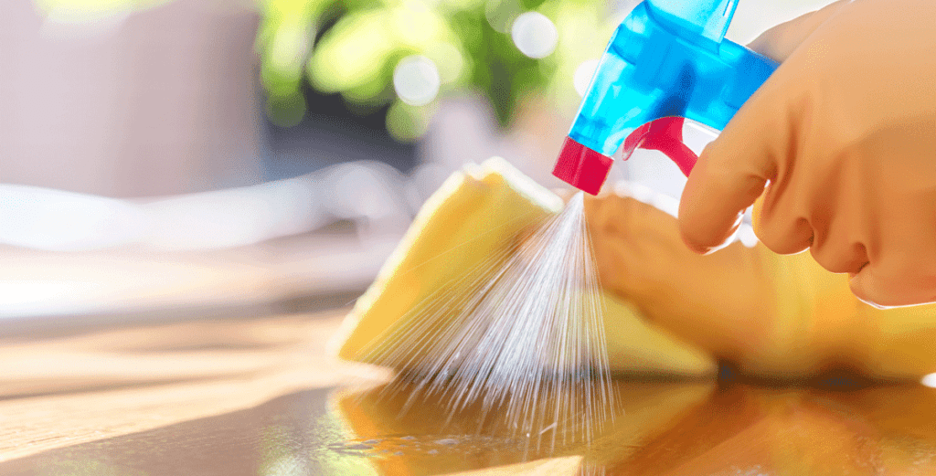 Cleaning and Disinfecting Blog Image
