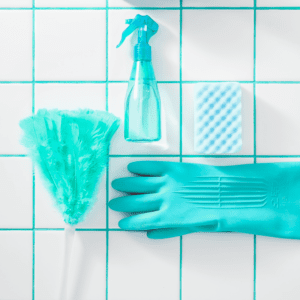 Protect hands while sanitizing and disinfecting