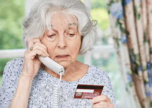Senior Citizen on Potentially Fraudulent Scam In Home Care Agency