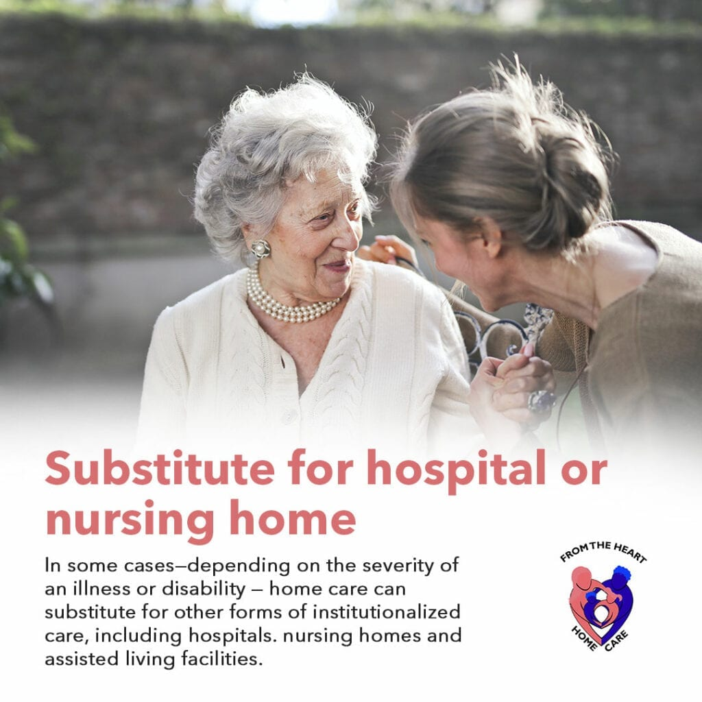 Home Care Instead of Hospital Care